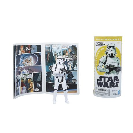 Star Wars Galaxy of Adventures Imperial Stormtrooper Figure and Mini Comic - image 4 of 6