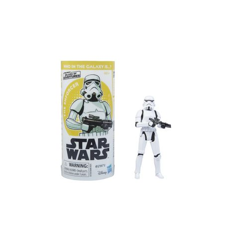 Star Wars Galaxy of Adventures Imperial Stormtrooper Figure and Mini Comic - image 3 of 6