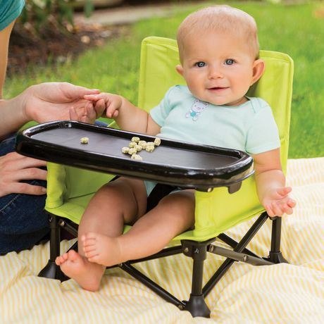 Summer infant pop n sit portable booster walmart canada for Petite table pliable