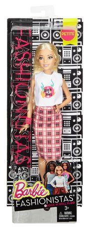 Barbie Fashionistas 31 Rock 'n' Roll Plaid Petite Doll - image 5 of 6