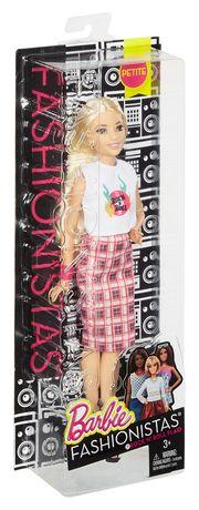 Barbie Fashionistas 31 Rock 'n' Roll Plaid Petite Doll - image 6 of 6