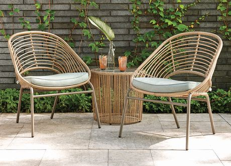 hometrends Nepal 3 Piece Chat Set - image 1 of 9