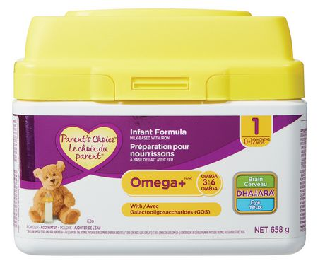 Parent's Choice Omega+ Infant Formula - image 1 of 1