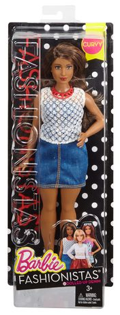 Poupée ronde Fashionistas de Barbie n° 32 Denim inoubliable - image 5 de 8