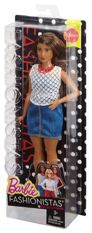 Poupée ronde Fashionistas de Barbie n° 32 Denim inoubliable - image 8 de 8