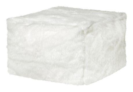 Ottomane Loft Winterfell de Sitting Point en blanc - image 1 de 2