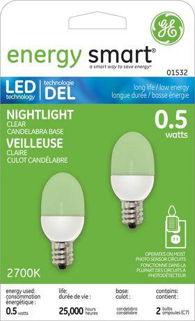 Ge Lighting Canada Energy Smart 0 5 W Led Nightlight