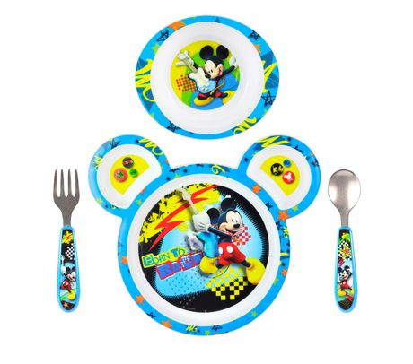 The First Years Mickey Mouse 4-Piece Feeding Set - image 1 of 1