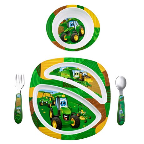 The First Years John Deere 4-Piece Feeding Set - image 1 of 1