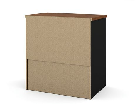 classeur lat ral innova en brun toscane noir. Black Bedroom Furniture Sets. Home Design Ideas