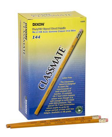 Dixon Classmates HB Pencils Tipped 144/Box - image 1 of 1
