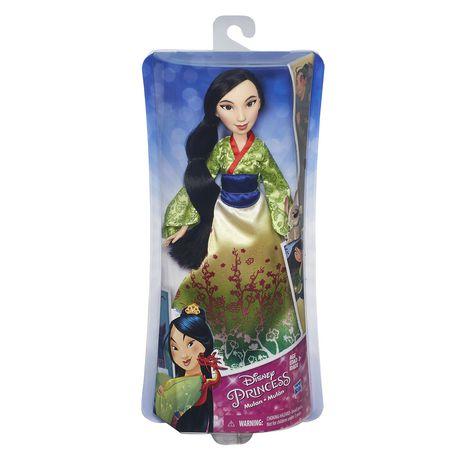 Disney Princess Royal Shimmer Mulan Doll Walmart Ca