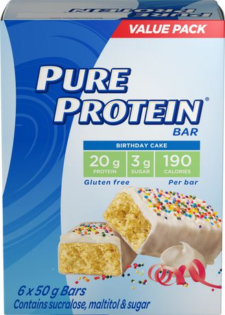 Pure Protein Birthday Cake 6x50G Value Pack