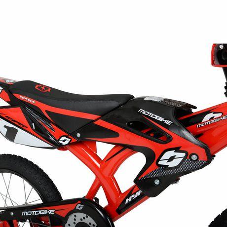 "16"" Hyper Bicycles Motobike Boy's Steel Frame Bike - image 3 of 5"