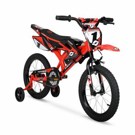 "16"" Hyper Bicycles Motobike Boy's Steel Frame Bike - image 2 of 5"