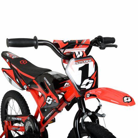 "16"" Hyper Bicycles Motobike Boy's Steel Frame Bike - image 4 of 5"