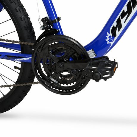 """24"""" Hyper Bicycles Boundry Trail Front Suspension Unisex Steel Frame Mountain Bike Blue - image 4 of 4"""