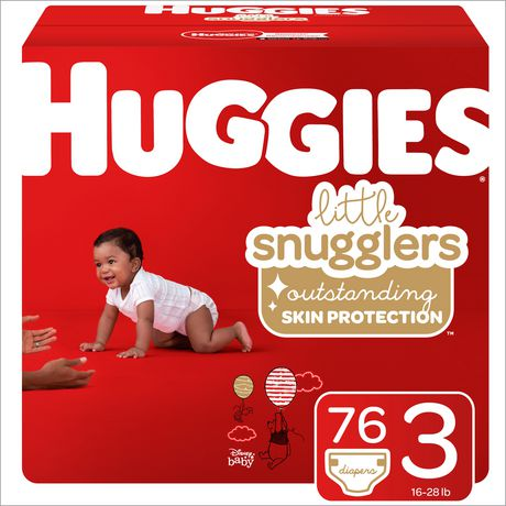 HUGGIES Little Snugglers Baby Diapers, Giga Pack - image 1 of 4