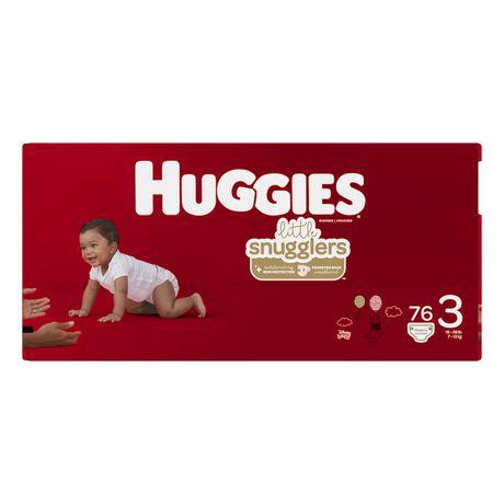 HUGGIES Little Snugglers Baby Diapers, Giga Pack - image 2 of 4