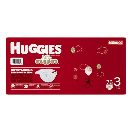 HUGGIES Little Snugglers Baby Diapers, Giga Pack - image 3 of 4