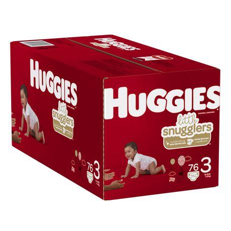 HUGGIES Little Snugglers Baby Diapers, Giga Pack - image 4 of 4