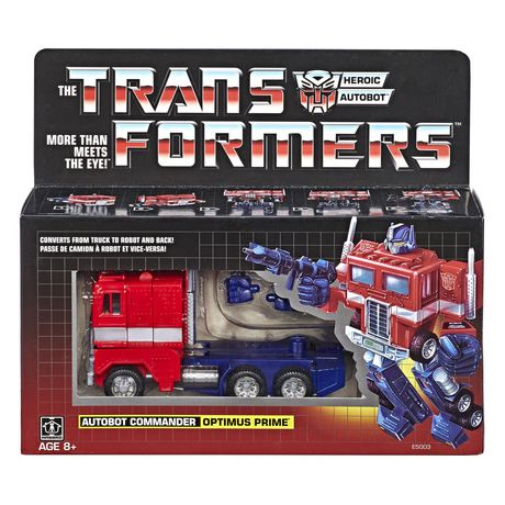 Transformers: Vintage G1 Optimus Prime Collectible Figure - image 1 of 3