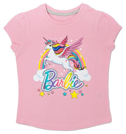 Barbie Toddler Girls' Short Sleeve T-Shirt - image 1 of 1