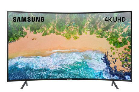 Samsung Curved UHD 4K Smart TV UN55NU7300FXZC - image 1 of 5