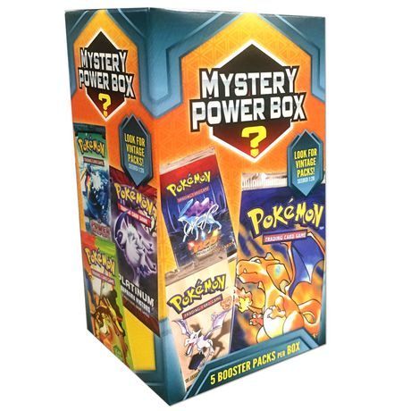 5fa99413a4 Pokemon Mystery Power Box 5 Trading Cards - image 1 of 1 ...