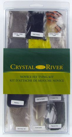 Crystal river fly tying kit introductory for Walmart fly fishing