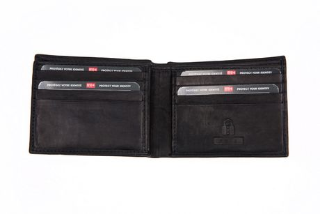 Champs RFID Leather Slimfold with Center Card/ID Holder - image 3 of 3