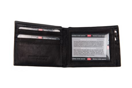 Champs RFID Leather Slimfold with Center Card/ID Holder - image 2 of 3