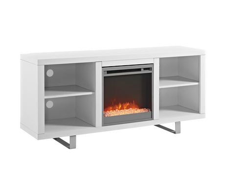 "Manor Park Modern Fireplace TV Stand for TV's up to 64"" - Multiple Finishes - image 6 of 7"
