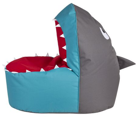 sitting point shark beanbag chair walmart canada. Black Bedroom Furniture Sets. Home Design Ideas