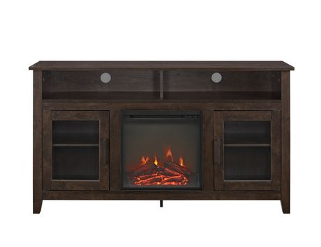 Manor Park 58 Quot Wood Highboy Fireplace Media Tv Stand