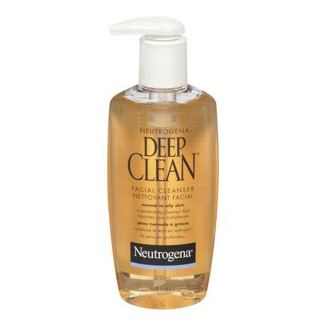 Neutrogena 174 Deep Clean 174 Facial Cleanser 200 Ml Walmart
