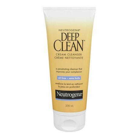NEUTROGENA® DEEP CLEAN® Crème nettoyante, 200 ml - image 1 de 1