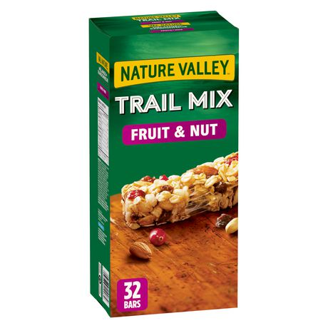 Nature Valley™ Trail Mix Fruit & Nut Bars, Large Pack ...