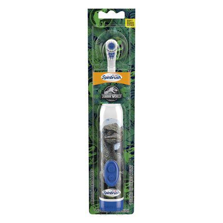 Brosse à dents à piles Kids Spinbrush Jurassic World d'ARM & HAMMER - image 1 de 5
