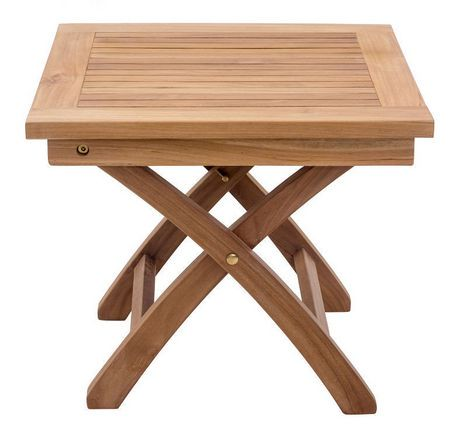 table d 39 appoint 1 pi ce en bois de teck pour ext rieur starboard de zuo modern walmart canada. Black Bedroom Furniture Sets. Home Design Ideas