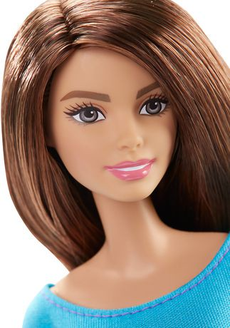 Barbie Made To Move Blue Top Doll Walmart Canada
