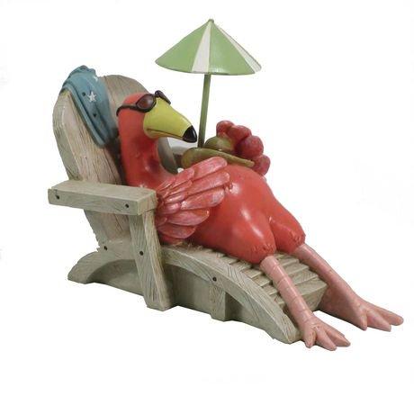 statue de jardin flamant rose de mainstays. Black Bedroom Furniture Sets. Home Design Ideas