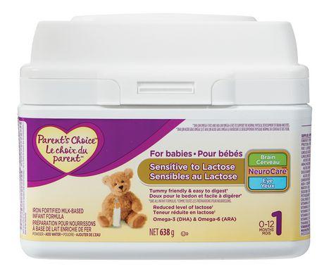 Parent's Choice Infant Formula for Babies Sensitive to Lactose - image 1 of 1