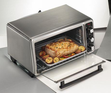 Hamilton Beach 6 Slice Toaster Oven 31412C - image 2 of 6
