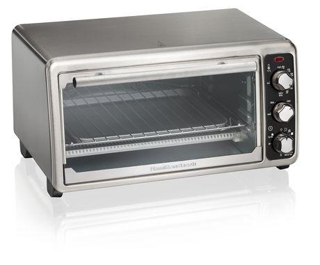 Hamilton Beach 6 Slice Toaster Oven 31412C - image 5 of 6