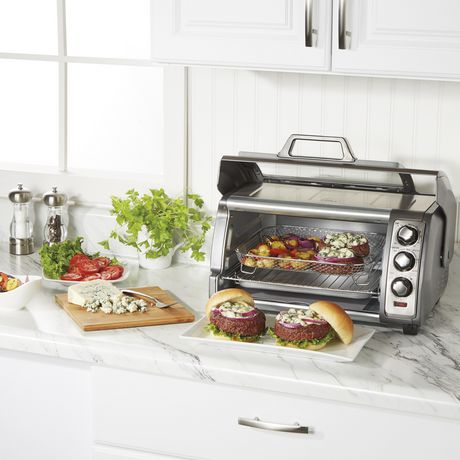 Hamilton Beach Sure-Crisp® Air Fryer Toaster Oven 31523C - image 8 of 8