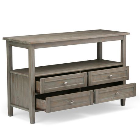 Norfolk table console pour salon walmart canada for Console salon