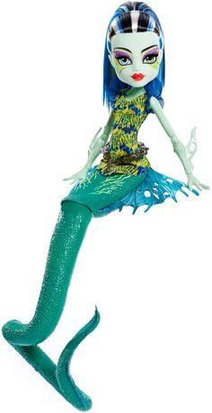 Poupée Frankie Stein Goules-poissons phosphorescentes La Grande Barrière des Frayeurs de Monster High - image 3 de 8