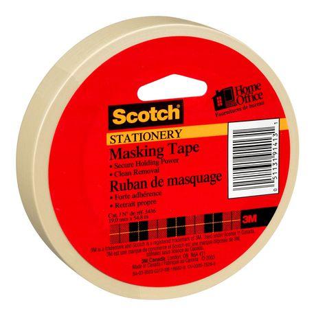 Scotch® Stationery Masking Tape - image 2 of 3