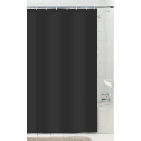 Doublure de rideau de douche en tissu microfibre de for Rideau de douche en tissu